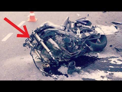 Свидетель Жёсткого ДТП на мотоцикле.