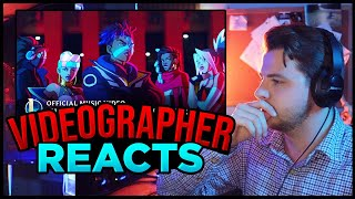 Videographer reacts to True Damage - GIANTS (ft. Becky G, Keke Palmer, | League of Legends