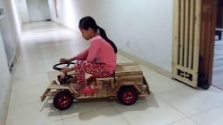 Chế xe ô tô điện cho bé (part 1)