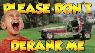 DERANKING KIDS TROLLING IN GTA ONLINE! (GTA 5 Funny Trolling)