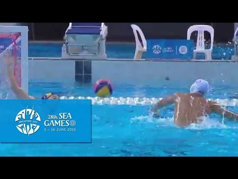 Waterpolo Men Thailand vs Malaysia (Day 10) | Highlights | 28th SEA Games Singapore 2015