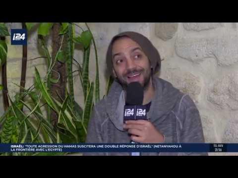 Idan Raichel - Interview i24news - Paris March 2019