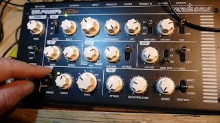 Vermona Retroverb Percussion Experiment Number 1