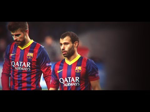 Javier Mascherano vs Gerard Pique ● Best Defending Skills 2014/15 ||HD||
