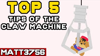 Top 5 Tips of the Arcade Claw Machine | Matt3756