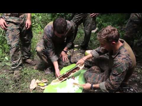 Marines Conduct Jungle Survival Training