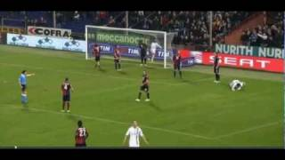 Robinho fails for open goal against genoa