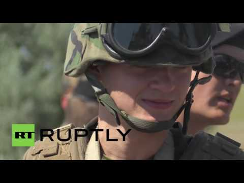 Ukraine: US, Ukrainian and Georgian forces initiate the Sea Breeze 2016' military drills