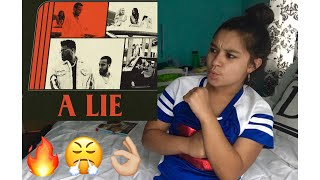 A Lie By French Montana Ft. The Weeknd , Max B REACTION | Dariana Rosales
