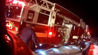 Station 50 First Due House Fire *Helmet Cam*