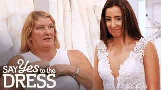 """I Don't Think a Bride Should Have Her Boobs Out Like That!"" 