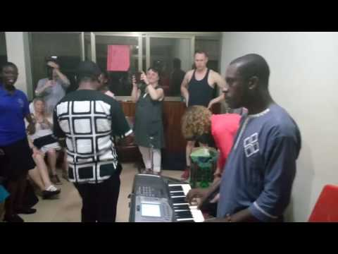 Preparation towards Echo from Addis Concert by Play Music Academy Ghana
