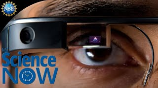 Researchers develop Google glass type technology for the deaf!  NSF Science Now 25