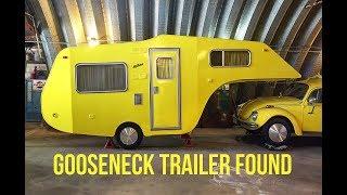VW Bug Gooseneck Trailer FOUND.  PART 2.