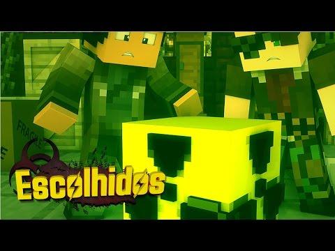 Minecraft: OS ESCOLHIDOS - BOMBA NUCLEAR! #1