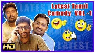 Tamil Comedy Scenes 2018 | Latest Tamil Comedy Scenes | Vol 1 | RJ Balaji | Karunakaran | Rajendran