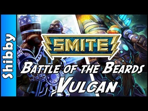 SMITE - Vulcan & Sentry Global Agenda Skin (Battle of the Beards Arena)