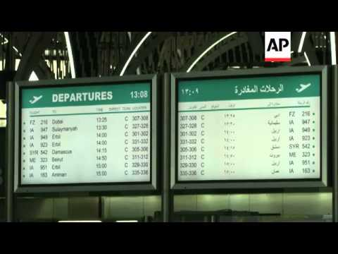 Head of aviation authority says Baghdad airport safe and well protected