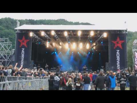 The End Of Heartache Live - Killswitch Engage - Norway Rock Festival 2010 8. juli