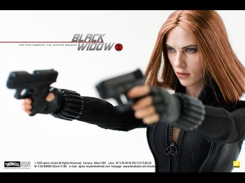 REVIEW : Hottoys Black Widow [Captain America Winter Soldier] MMS239