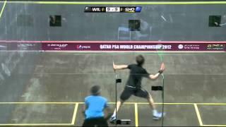 Squash : PSA World Championship Qatar 2012 - Semi Final Roundup Willstrop v El Shorbagy