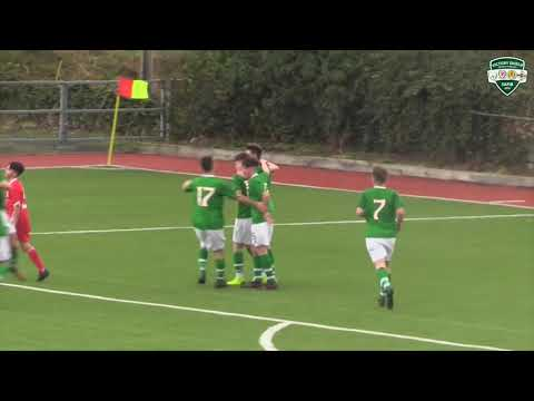 HIGHLIGHTS: Republic of Ireland 4-0 Wales - Victory Shield