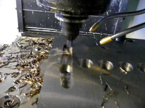 highspeed machining mastercam X5 Haas CNC