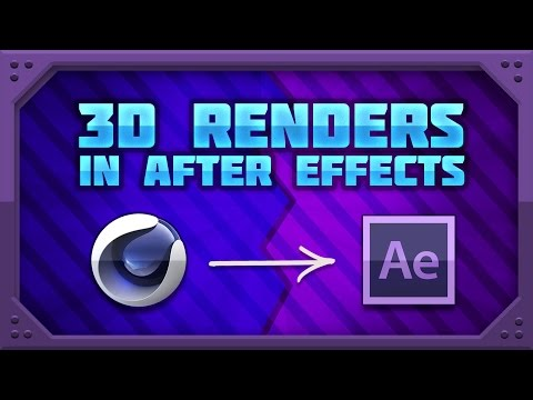 [TUTORIAL] Fastest and Easiest Way to Import Cinema4D Projects into After Effects! No Rendering