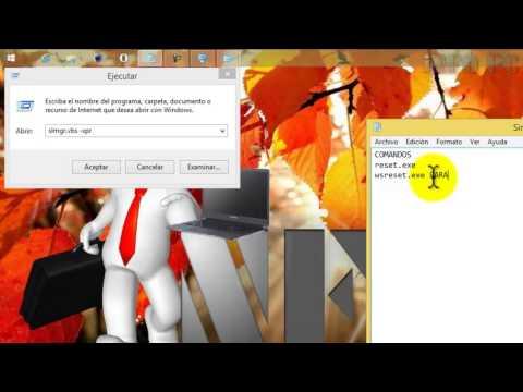 WINDOWS 8.1 REPARAR APLICACIONES