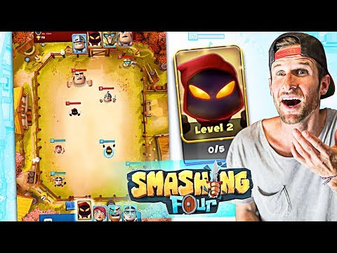 SMASHING FOUR! *NEW* Supercell style game!?
