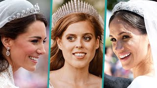 Meghan Markle, Kate Middleton & More Royal's Wedding Tiaras