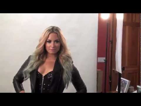 Demi Lovato's Full Photo Shoot For Voto Latino / Behind The Scenes Music Videos