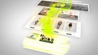 Презентационный видеоролик: создание дизайна интернет-магазина CAMELOT