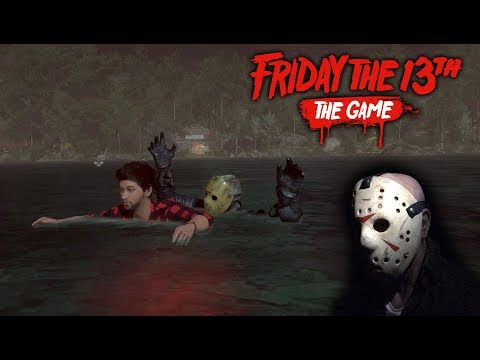 Friday the 13th the game - Gameplay 2.0 - Jason part 8
