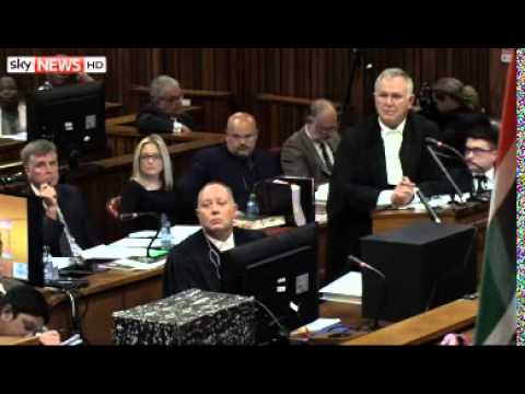 Pistorius Gives Evidence: Oscar Says Sorry