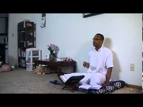 Hg Devakinandan Prabhu Visit To Minneapolis - Morning Program On Sb 3.25.38 At Balaram Prabhus Place video