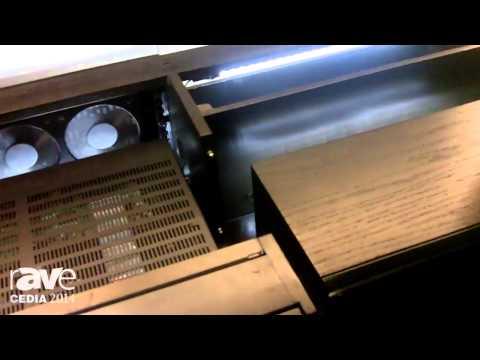 CEDIA 2014: Sanus Shows Off Its Designer Cadenza Collection Rack System