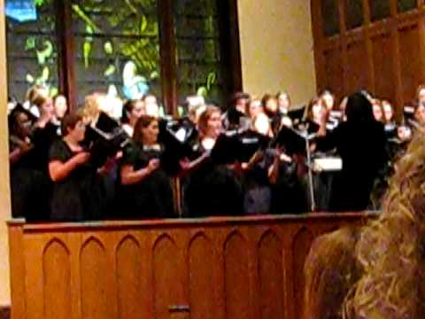 Megan Griffin's First Concert with SHSU Choir Video