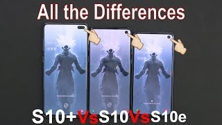 Samsung Galaxy S10e Vs S10  Vs S10 Plus Detailed Comparison, Everything You Need To Know!!! #verizon
