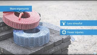 Murfor® Compact Masonry reinforcement on a roll