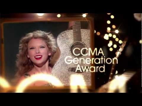 2012 CCMA Taylor Swift's Generation Award