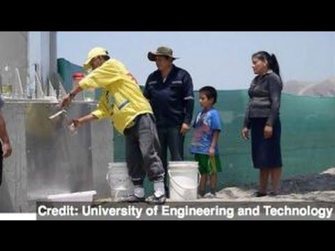 Billboard in Peru Turns Air into Clean Drinking Water