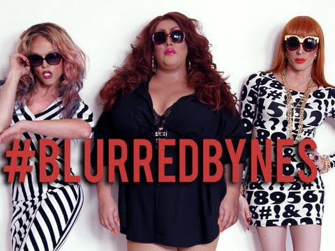 Blurred Bynes by DWV (Detox, Willam & Vicky Vox)