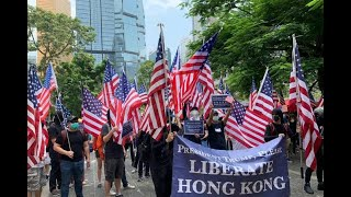 ||LIVE HONGKONG|| HK protesters march to show 'gratitude' to the U.S. Act Central