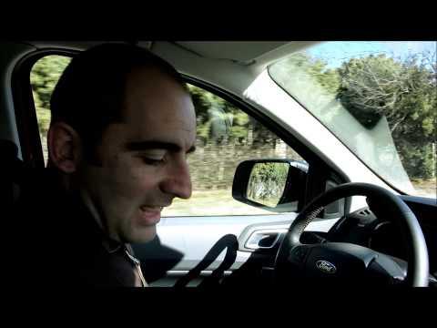 Ford Ranger - Prueba Portalcoches