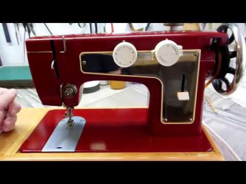 Вышивка на подольской швейной машине 27