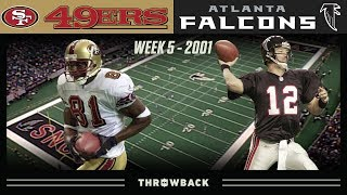 T.O. Second Half TAKEOVER! (49ers vs. Falcons 2001, Week 5)
