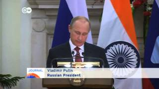 Putin looks to India as sanctions hit Russian economy | Journal