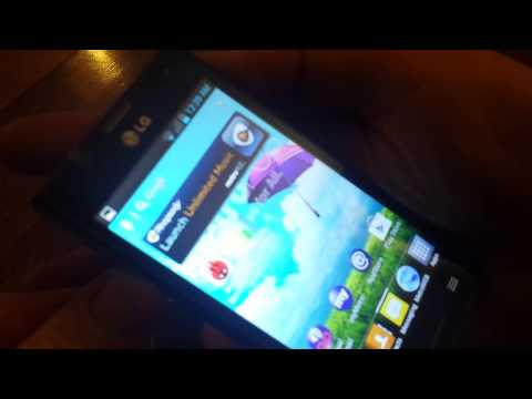 Lg Optimus F3 Screen Shot Metro pcs