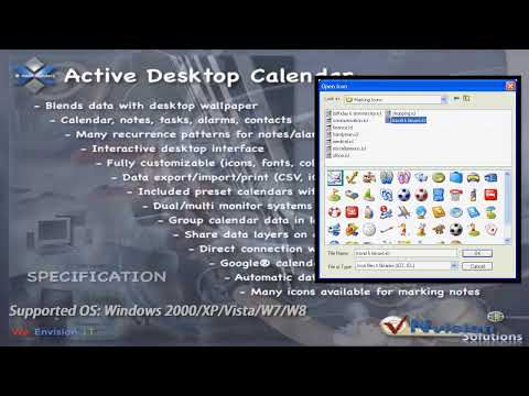 Active Desktop Calendar Introduction